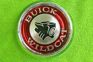 1965 Buick Wildcat Chrome Wheel Center Cap Medallion