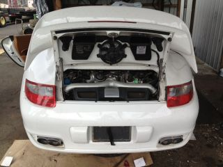 2007 Porsche 911 997 Turbo 997TT Complete 3 6L Twin Turbo Engine No Core Charge