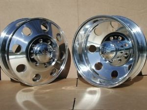 "17"" Aluminum Dually Wheels Rims Chevy 3500 Dodge 3500 Dually"