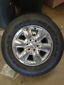 "2013 GMC Sierra 18"" OE Wheels Tires"