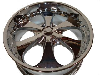 "22"" Chrome Wheels Rims Chevy Silverado Tahoe Avalanche GMC Yukon Denali 6x139 7"