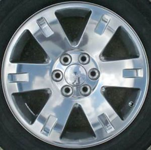 "20"" New Polished Wheels Rims 2007 2008 2009 2010 2011 GMC Sierra Yukon Denali"