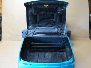 1994 Honda Goldwing GL1500 GL1500SE Rear Luggage Trunk Case Complete