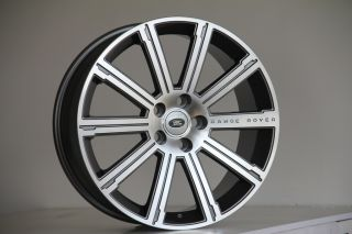 "20"" Land Range Rover Sport HSE Supercharged LR3 Gunmetal Rims Wheels"