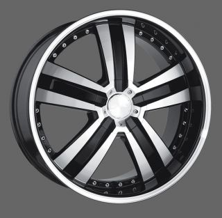 "22"" Wheels for BMW 7 Series BMW 750i 750LI 760LI 760i Ace Deluxe"