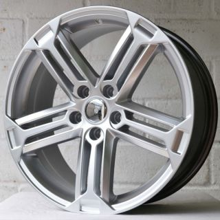 "18"" Seat Leon MK2 2005 2012 Triple Spoke Silver Alloy Wheels 5x112"