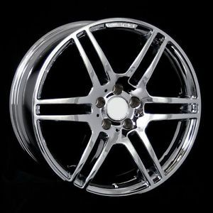 "19"" Chrome Staggered Wheels Rims Fit Mercedes W203 W208 W209 W218 W219 W210 W211"