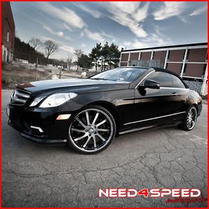 "20"" Mercedes Benz S400 S550 S600 S63 Roderick RW4 Machined Concave Rims Wheels"