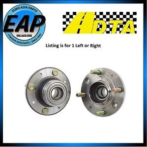 2000 2004 Volvo S40 V40 4CYL 1 9L 2 4L 2 5L 5CYL DTA Rear Wheel Hub Bearing New