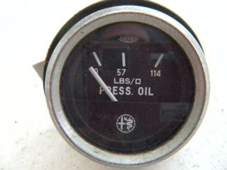 Alfa Romeo Spider Oil Gauge