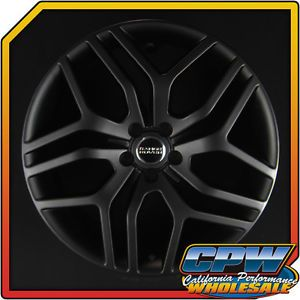 "Land Rover Range Rover Evoque 20"" Cheshire Wheels Matte Black Rims Marcellino"