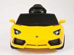 Lamborghini Aventador Ride on Car Remote Control Battery Operated Power Wheels