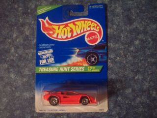 1996 Hot Wheels Treasure Hunt 10 Lamborghini Countach