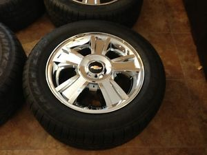 20 inch Escalade Tahoe GMC Chevy Wheels and Tires