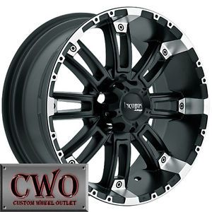 Jeep Wrangler Wheels Black 18