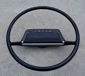 70 71 72 Buick Skylark GS Original Black Steering Wheel Nice