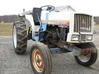 Mitsubishi MT250 Compact Farm Tractor Parts