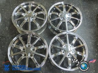 Four 00 02 Mitsubishi Eclipse Factory 16 Chrome Wheels Rims 65771 Outright