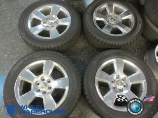 "2014 Chevy Silverado LTZ Factory 20"" Wheels Tires Rims Avalanche Tahoe 1500"