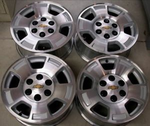 Chevy Tahoe Suburban Rims Wheels 17 Oem 2007 2008 2009 2010 2011 2012 2013 2014