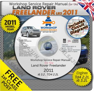 Land Rover Freelander 2 II LR2 2011 Workshop Service Repair Manual Electricals