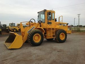 Daewoo Mega 200 III 200 3 200 Articulating Wheel Loader Runs Great