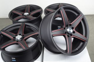 "17"" Effect Wheels Rims Escort Accord Civic Miata Corolla Yaris galant Altima"