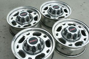 "GMC Sierra 2500 3500 Chevy Silverado HD 16"" Aluminum Alloy Wheels Rims"
