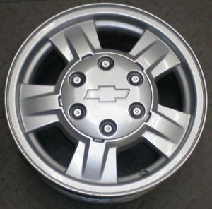 "5182 Chevy Colorado 15"" Alloy Truck Wheels Rims Canyon Single"