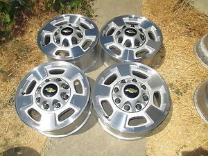"2011 2014 17"" Chevy GMC 2500 HD Truck Wheels Rims Silverado 2500HD 8 Lug"