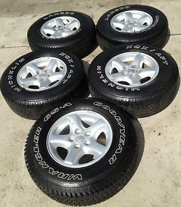 Jeep Wrangler YJ TJ LJ Cherokee XJ ZJ Factory Original Wheels Rims and Tires