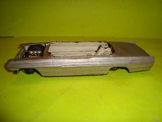 1 25 Scale Model Car Parts 1961 Pontiac Bonneville Parts Car