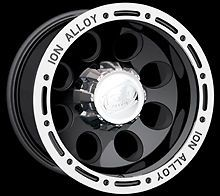CPP ion 174 Wheels Rims 16x8 Fits Jeep Wrangler Grand Cherokee YJ Ford Ranger