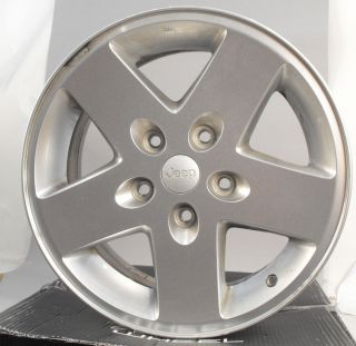 "5 Jeep Cherokee 17"" Factory Rims Wheels"