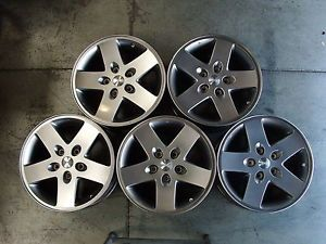 5 17x7 5 Jeep Wrangler Alloy Wheels