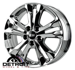 Kia Optima PVD Bright Chrome Wheels Factory Rim 74638 Exchange 2011 2011