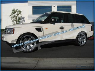 "22"" Ssii Wheels Rims Tires Package Deal Fits Land Rover Range Rover"