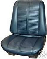 1966 Pontiac GTO or LeMans Bucket Seat Covers Legendary