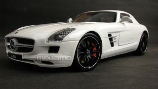 1 18 GT Autos GTA Welly Mercedes Benz SLS AMG White