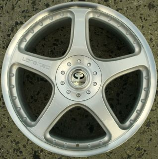 Lorenzo WL028 20 x 8 5 Silver Rims Wheels Oldsmobile Intrigue 98 03 5H 35