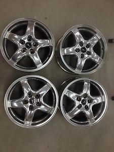 2001 2002 Pontiac Firebird Trans Am WS6 Speedline Wheels Rims 17""