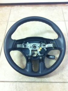 2006 2012 Mitsubishi Eclipse Steering Wheel Black Leather Factory