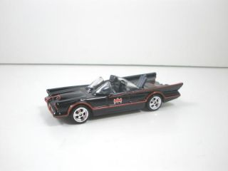2013 Hot Wheels Retro Classic TV Series Batmobile Brand New Loose