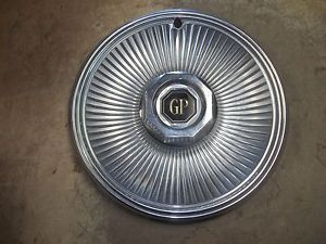 "1978 78 79 Pontiac Grand Prix Hubcap Wheel Cover 14"" 1"