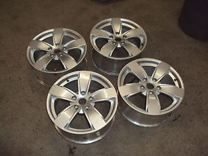 "2004 2005 2006 Pontiac GTO Aluminum Wheel 17"" Factory Silver Set"