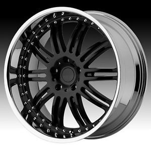 "22"" Black Rims Tires 6x139 Chevy GMC Avalanche Venice F150 Ford Expedition"