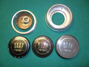 Saab Monte Carlo 750 850 GT Wood Steering Wheel Hornbutton Parts