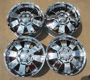 "2000 2013 Cadillac Escalade 18"" Chrome Wheels 17801491"