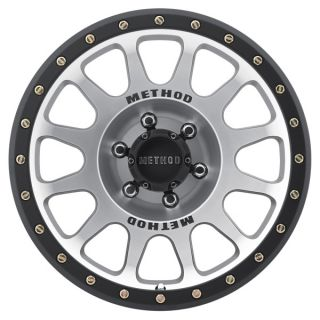 Ford F150 Raptor Method Race NV Wheels 17x8 5 Machined Face Set of 4
