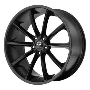 20 inch Staggered Lorenzo WL032 Black Wheels Rims 5x4 5 5x114 3 35